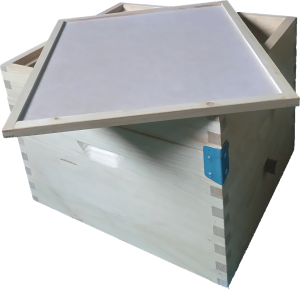 Inner cover + feeder+ beehive box medles.si
